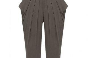 Ladies Pants Plus Size 4XL 5XL Harem Pants Women Elastic Waist