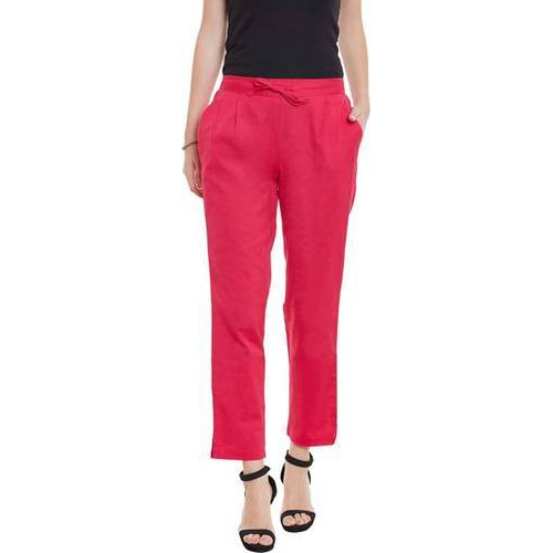 Plain Casual Wear Ladies Trousers, Rs 350 /piece, Sanil Creations