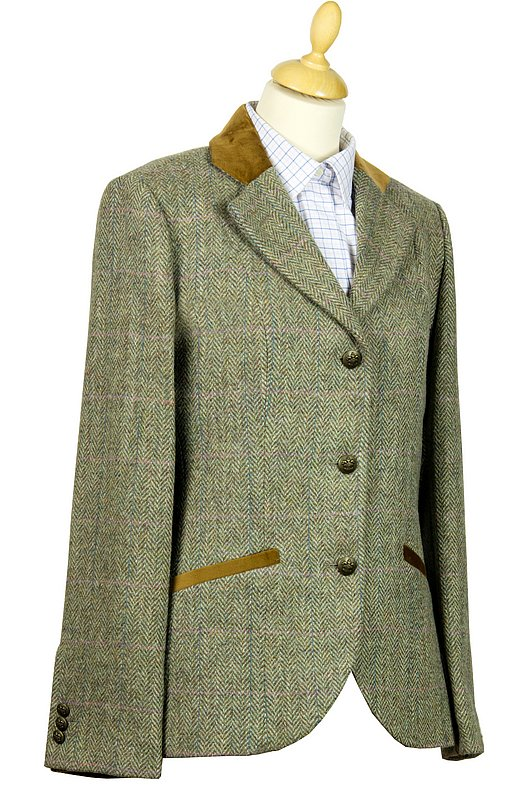 Harris Tweed Ladies Louise Jacket from the Harris Tweed Shop