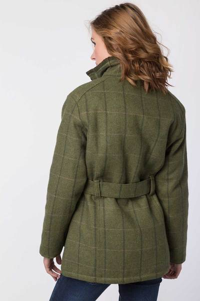 Rydale Ladies Short Tweed Belted Jacket