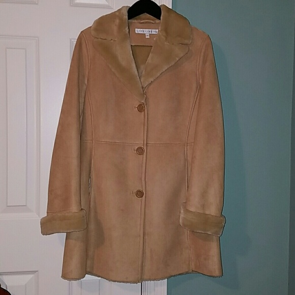 Larry Levine Jackets & Coats | Faux Shearling Coat | Poshmark
