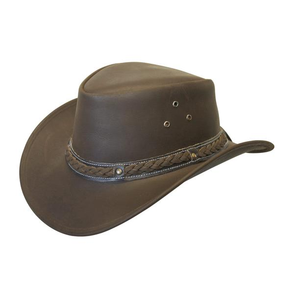 Down Under Leather Hat | Conner Hats