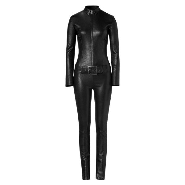 Biker Style Leather Jumpsuit for Women | Jumpsuits Online