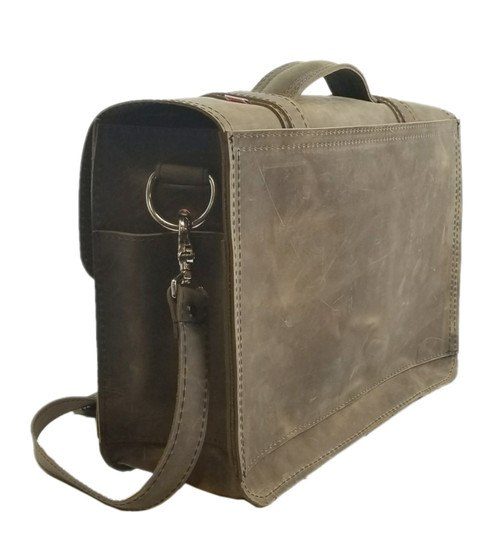 Made in USA Distressed Leather Laptop Bag u2013 Copper River Bags