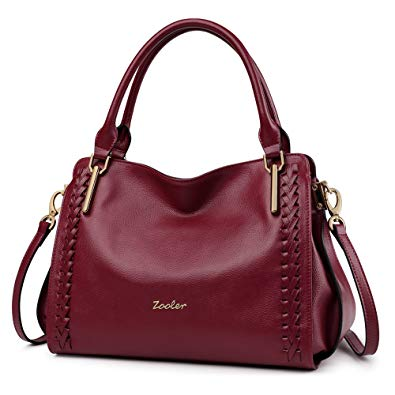Amazon.com: ZOOLER Leather Purses and Handbags for Women Shoulder