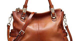 Genuine Leather Women's Purses: Amazon.com