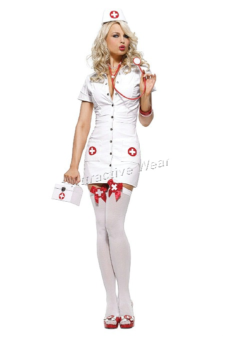 83310 Leg Avenue Costume, Costumes, pleather nurse costume includes
