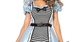 Leg Avenue Women's Hypnotic Miss Alice Costume - Alice-in-Wonderland