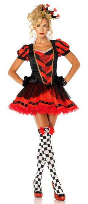 Leg Avenue Dark Heart Queen Adult Costume - Candy Apple Costumes