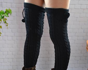 Winter leg warmers | Etsy
