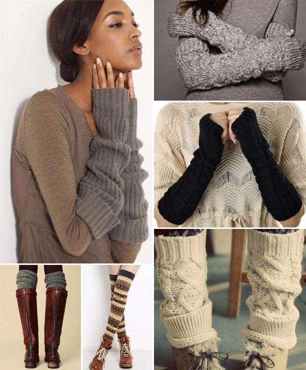 Chic and warm winter legs arms warmers - StyleFrizz | Photo Gallery