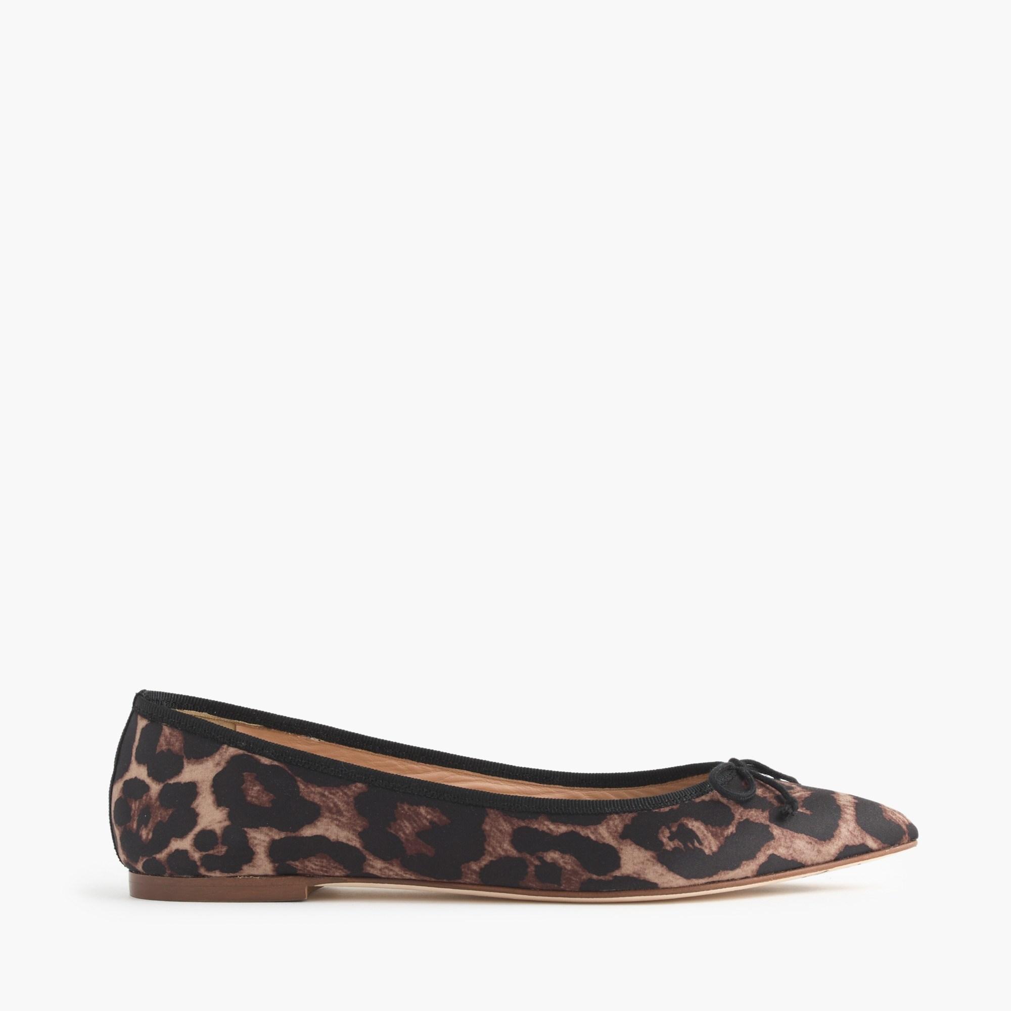 Gemma Leopard Flats : Women's Flats | J.Crew