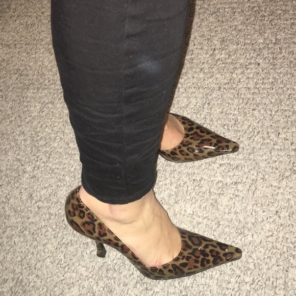 BCBGirls Shoes | Leopard Bcbg Girls Pumps So Comfortable | Poshmark
