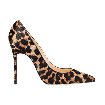 Comfort Sexy Leopard Pointed Toes Girls High Heel - Buy Sexy Girls