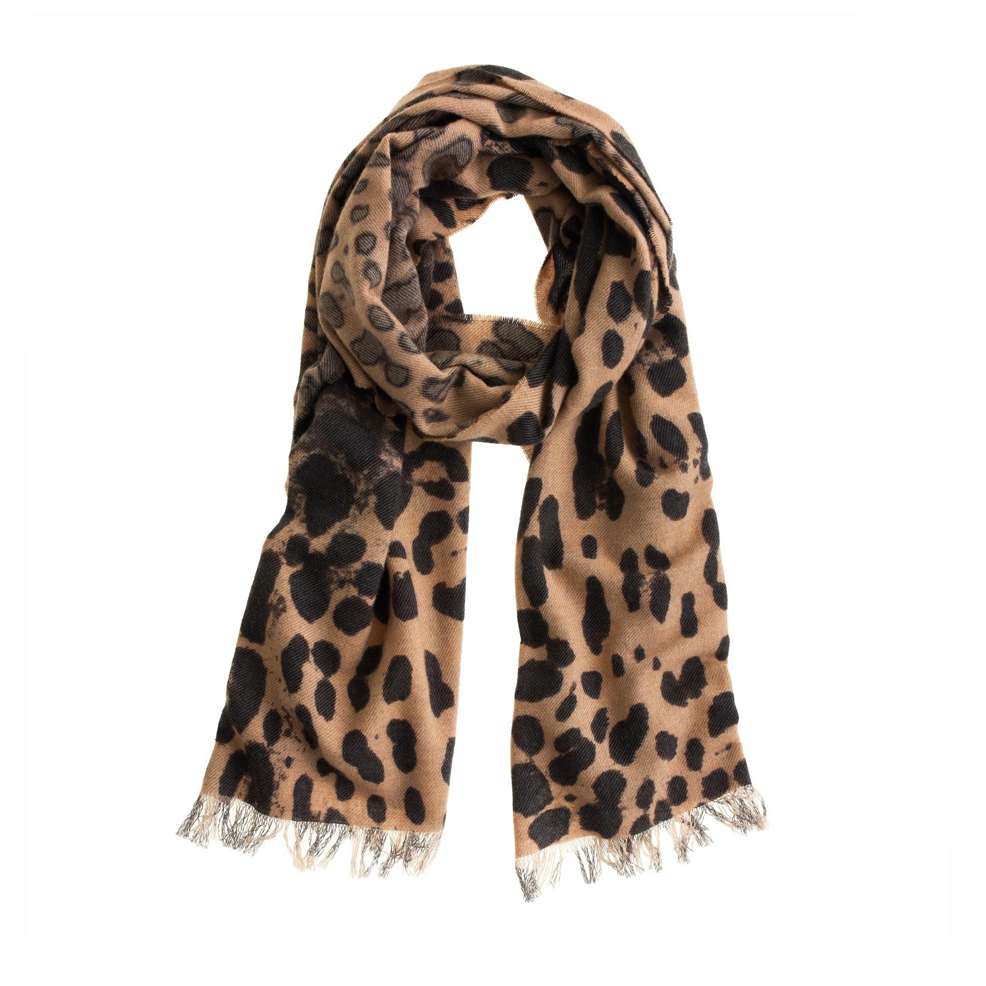 Leopard scarf : | J.Crew