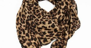 Fashion Leopard Print Infinity Scarf | Fashion Scarves | Clothing