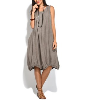 Italian Linen Dresses at $49.99 | Zulily