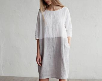 Style with Linen dresses for   summer