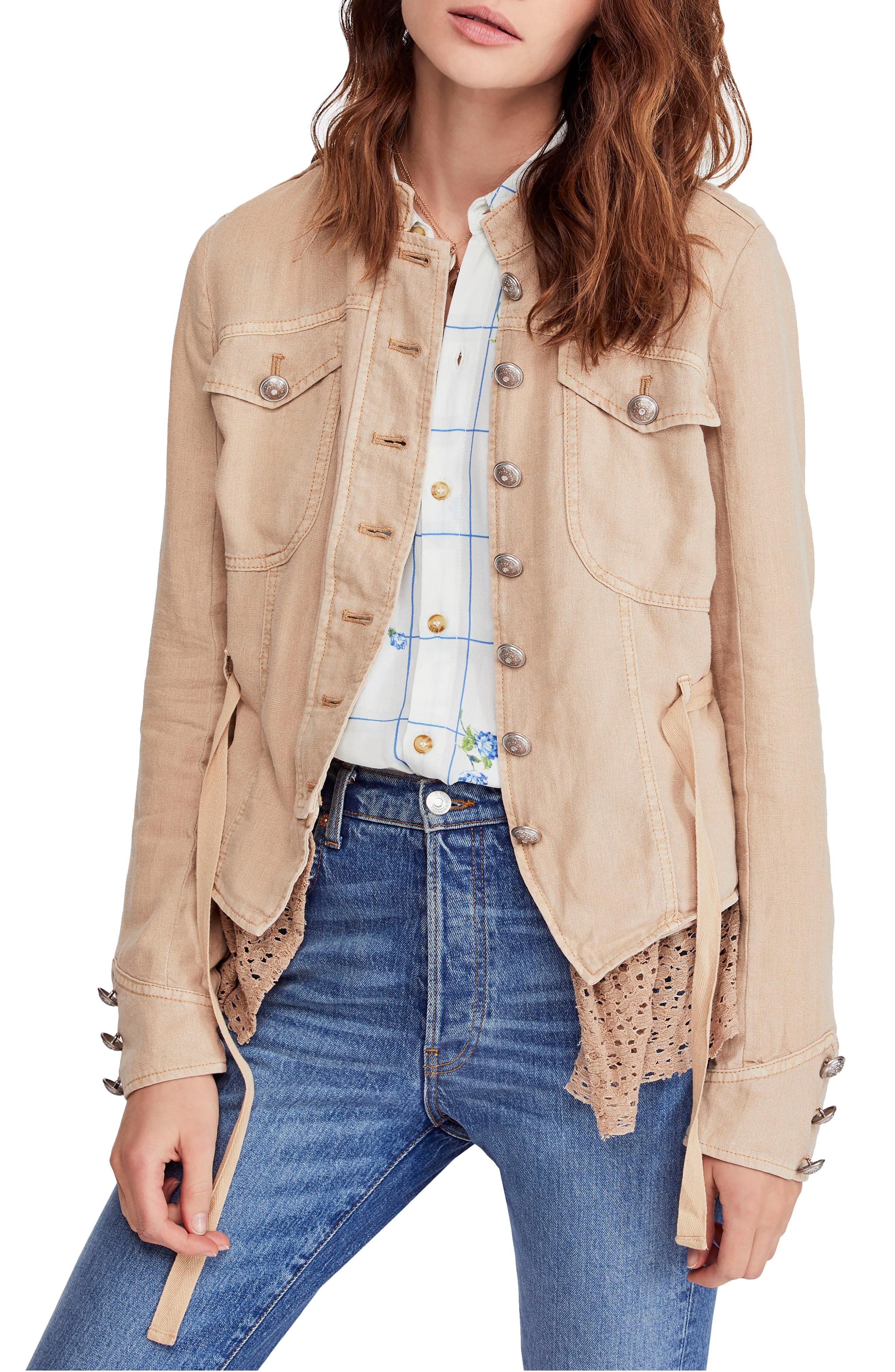 Women's Linen Coats & Jackets | Nordstrom