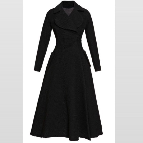 Gianfranco Rossi Jackets & Coats | Long Black Coat | Poshmark