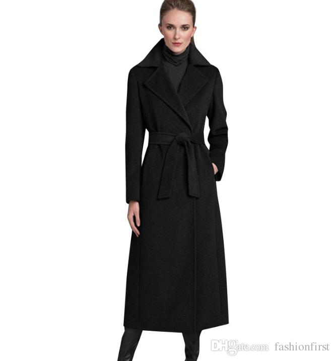 Manteau Femme Autumn Wool Outwear Long Wool Coatwinter Jacket Coat