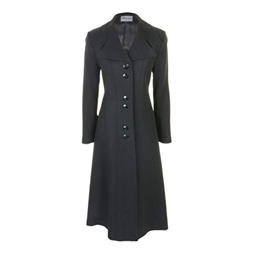 Long Black Coats: Amazon.co.uk