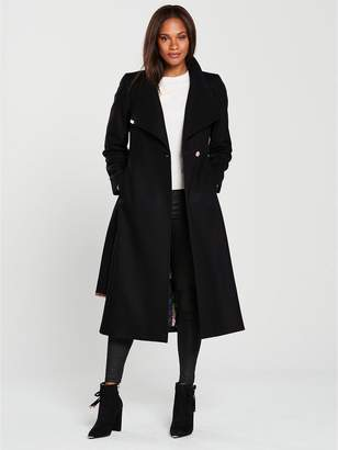 Long Length Black Coats - ShopStyle UK