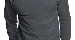 Hanes - Mens Tagless Cotton Crew Neck Long-Sleeve Tshirt - Walmart.com