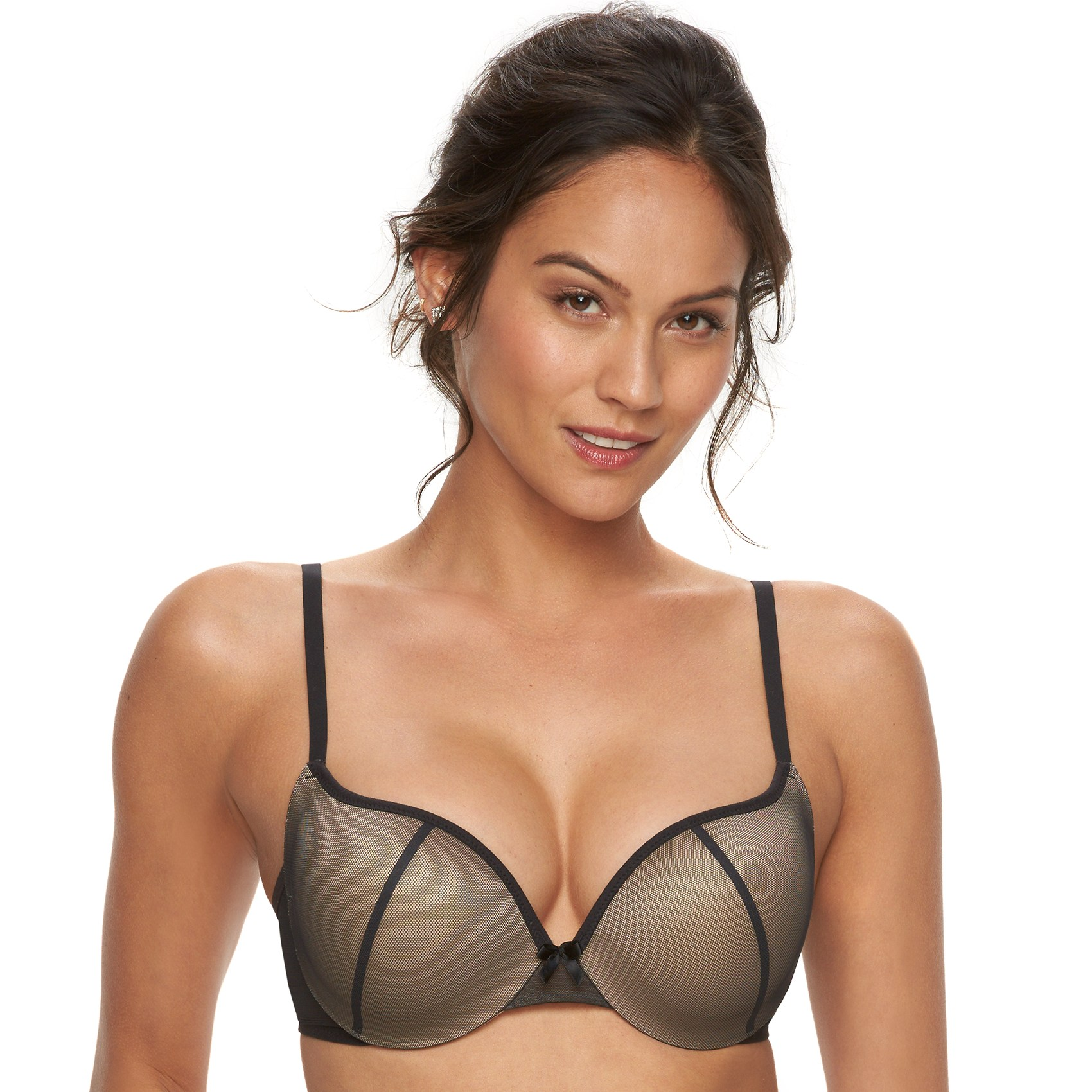Maidenform Bras: Love the Lift Wonderbra Mesh Push-Up Bra DM9900 | null