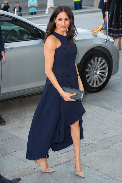 Meghan Markle's Best Maternity Fashion Moments - Glamour