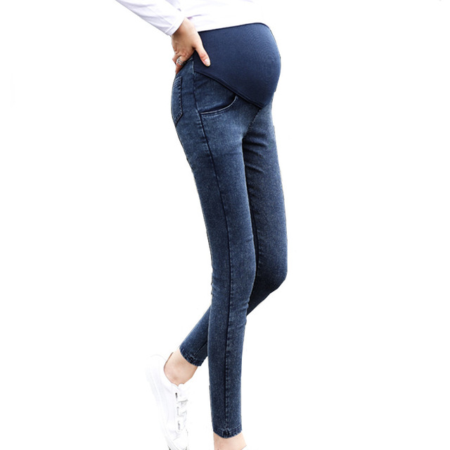 Maternity Jeans Skinny Belly Care Pants for Pregnant Women Maternity