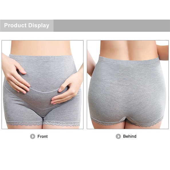 Cotton Pregnant Women Maternity Underwear Breathable Soft Belly