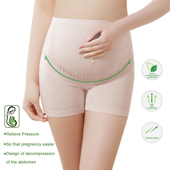 Adjustable Pregnant Women Belly Support Panties Shorts Soft