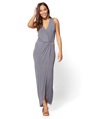 NY&C: Maxi Wrap Dress