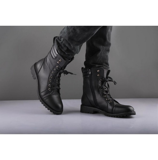 Handmade Mens Military Leather Jacket,Men Nepolian Military Black