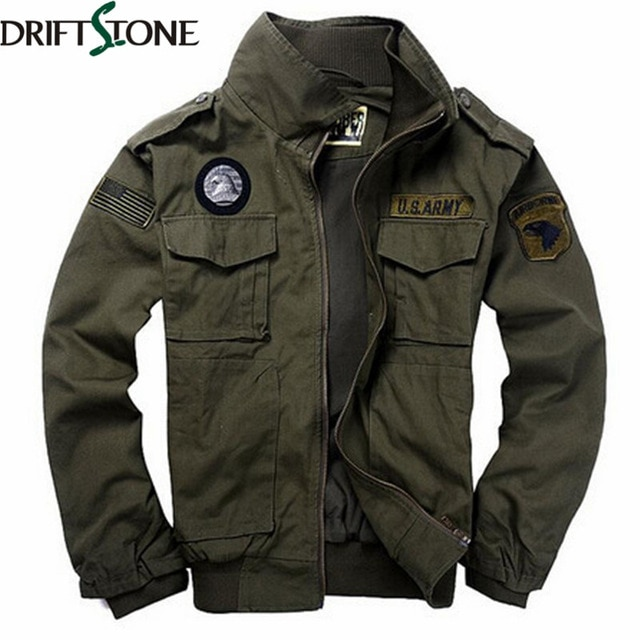 New 101 Flight Jacket Men Military Jacket Military Uniform Spring