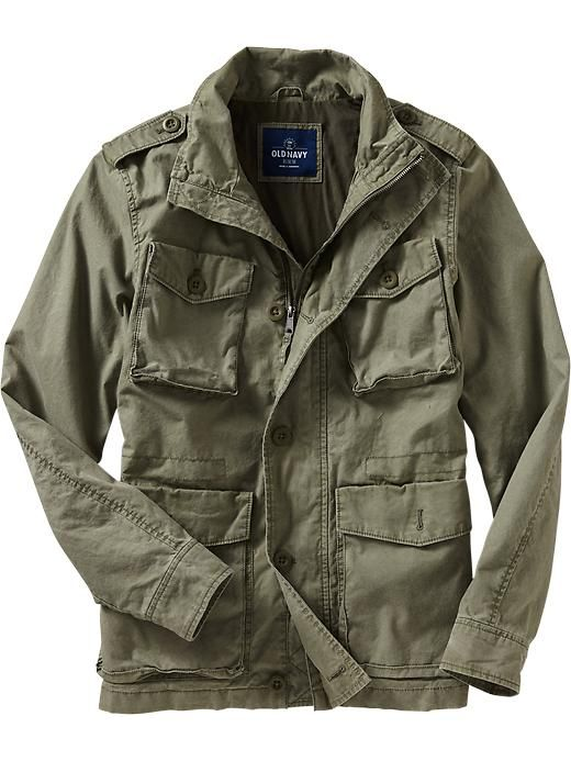 Mens Military Jacket, Fennel Seed, $60 | M65 and Field Jackets