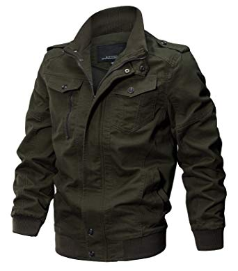 Make your style with perfect   military jackets these winters