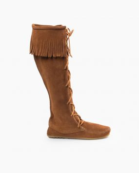 Shop Women's Fringe Boots, Suede Boots and More   Minnetonka