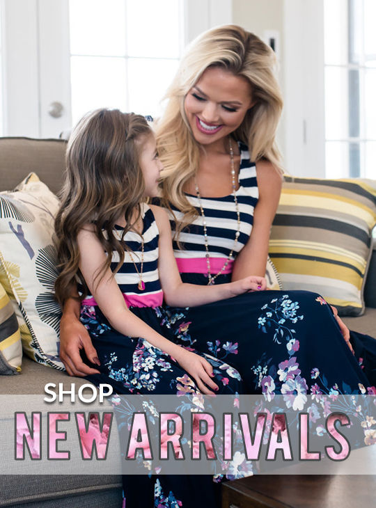 Mom And Me Clothing | Matching Mother Daughter Outfits | Little