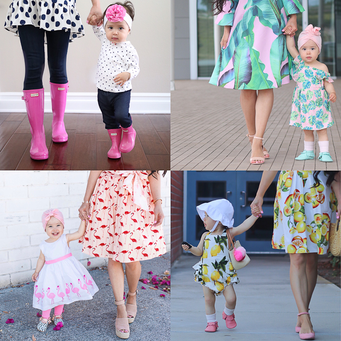 Mommy and Me matching outfits, Mother Daughter outfits | Stylish Petite