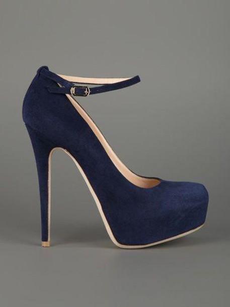 blue, heels, platform shoes, platform high heels, nubuck, nude