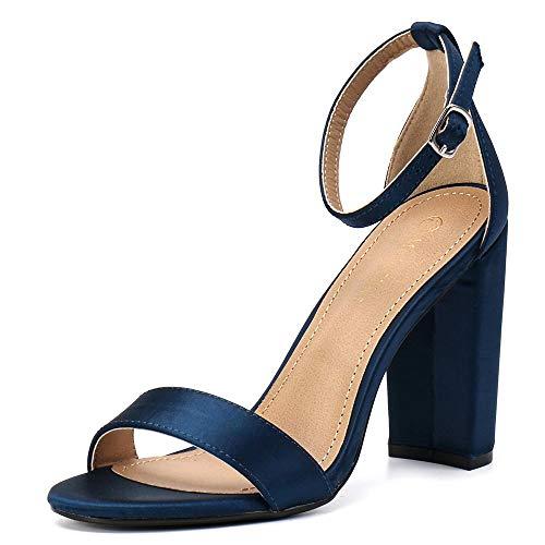 Navy Heels: Amazon.com