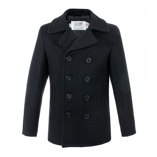 Schott NYC Store | Peacoat US 740N | Navy Jacket