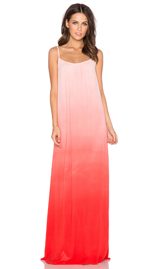 Splendid Ombre Maxi Dress in Poppy Red | REVOLVE