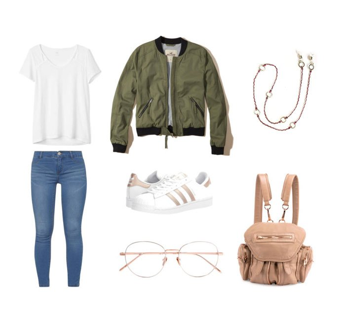 Going Back to school: 3 simple outfit ideas - Wakami