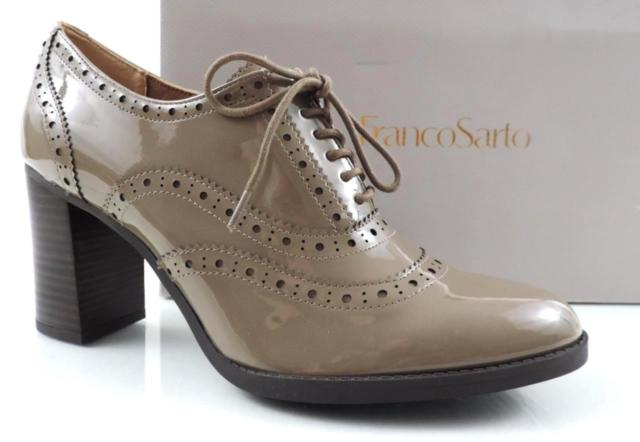 Women's Shoes Franco Sarto Maze Lace up Oxford PUMPS Mushroom Size