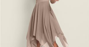 SEQUIN DETAIL PARTY DRESS in Taupe | VENUS