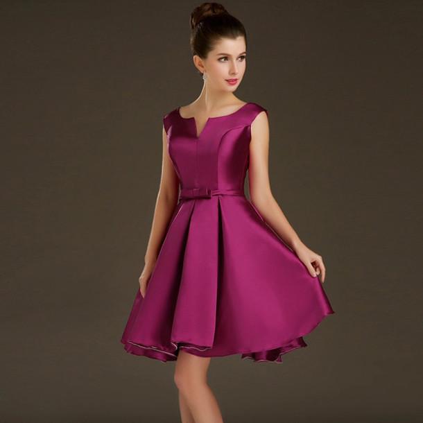 dress, short prom dress, party dress, gown, short evening dress, v