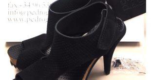 pedro garcia Shoes | Black Petunia Heels | Poshmark